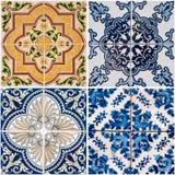 Vintage ceramic tiles Royalty Free Stock Images