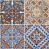Vintage ceramic tiles Stock Photo