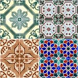 Vintage ceramic tiles Royalty Free Stock Image