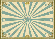 Vintage certificate horizontal background. A  vintage poster with sunbeams for your advertising. Perfect size for a screen Stock Photo