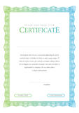 Vintage Certificate. Template diplomas, currency. Royalty Free Stock Photos