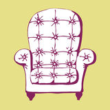 Vintage chair Stock Photos