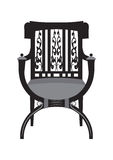 Vintage Chair furniture Vector Stock Photography