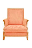 Vintage chair isolated Royalty Free Stock Image