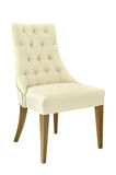 Vintage chair isolated Royalty Free Stock Images