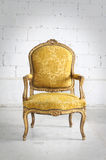 Vintage chair in the room Royalty Free Stock Photo