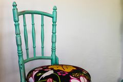 Vintage Chairs Illustration Isolated Pattern