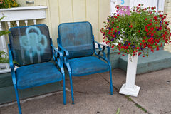 Vintage Chairs Stock Image