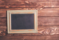 Vintage chalk board Stock Photos