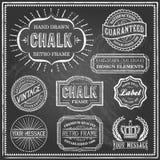 Vintage Chalkboard Frames Royalty Free Stock Image