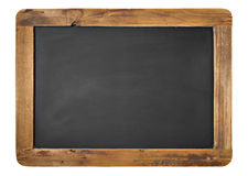 Vintage Chalkboard. Isolated On White Royalty Free Stock Photos