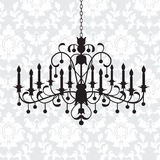 Vintage chandelier Royalty Free Stock Photography