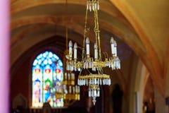 Vintage chandelier Stock Image