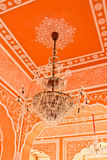 Vintage chandelier, city Palace in India. City Palace in India, the home of the Royal family Royalty Free Stock Images