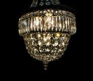 Vintage chandelier Stock Images