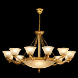 Vintage chandelier isolated on black. Background with clipping path stock photography