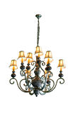 Vintage chandelier isolated  with clipping path Royalty Free Stock Images