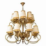Vintage chandelier isolated on white. Background with clipping path stock photography