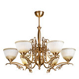 Vintage chandelier isolated on white. Background with clipping path stock images