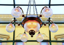 Vintage chandelier Stock Photo