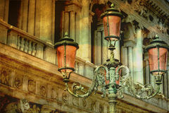 Vintage chandeliers Royalty Free Stock Photo