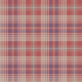 Vintage check plaid fabric texture seamless pattern. Vector illustration Royalty Free Stock Photography