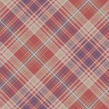 Vintage check plaid fabric texture seamless pattern. Vector illustration Royalty Free Stock Photo