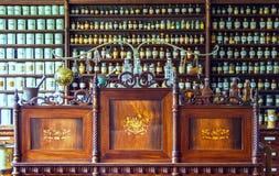 Vintage chemist shop Royalty Free Stock Photos