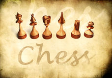 Vintage Chess Royalty Free Stock Image