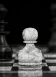 Vintage chess Stock Image
