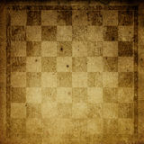 Vintage chess-board background. Stock Photography