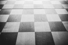 Vintage chess board Stock Images
