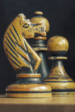 Vintage chess Royalty Free Stock Photography