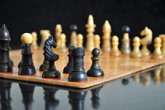 Vintage chessboard. Stock Images