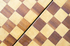 Vintage chessboard Stock Photo