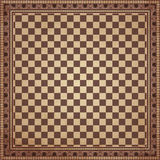 Vintage chessboard background Stock Image