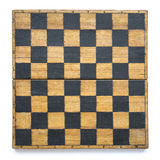 Vintage chessboard isol Stock Photos