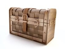 Vintage Chest in 3D Stock Images