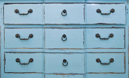 Vintage chest of drawers Stock Images