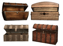 Vintage chests Royalty Free Stock Image