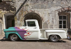 Vintage Chevrolet Apache from 1959 Stock Photo