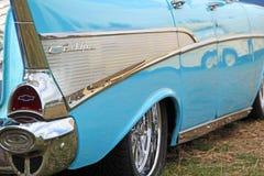 Vintage chevrolet bel air car Stock Images