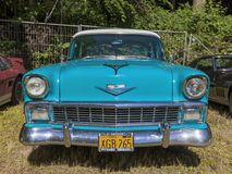 Vintage Chevrolet Bel Air from 1956 Royalty Free Stock Photos