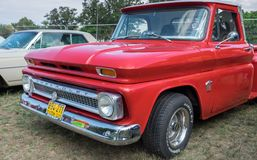 Vintage Chevrolet C10 pickup 1964 presented on annual oldtimer car show, Israel stock photo