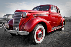 Vintage chevrolet car Royalty Free Stock Images