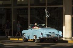 Free Vintage Chevrolet Convertible Taxi Havana Royalty Free Stock Photos - 67541438