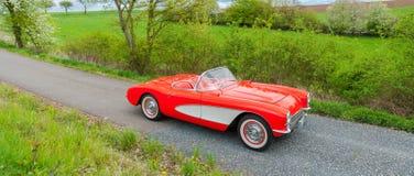 Vintage Chevrolet Corvette Fotos de archivo libres de regalías
