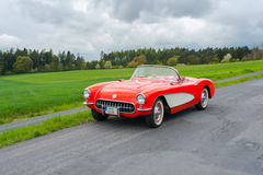 Vintage Chevrolet Corvette Royalty Free Stock Image