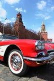 Vintage Chevrolet Corvette sports car stock photo