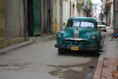 Vintage Chevrolet, Havana. Royalty Free Stock Images